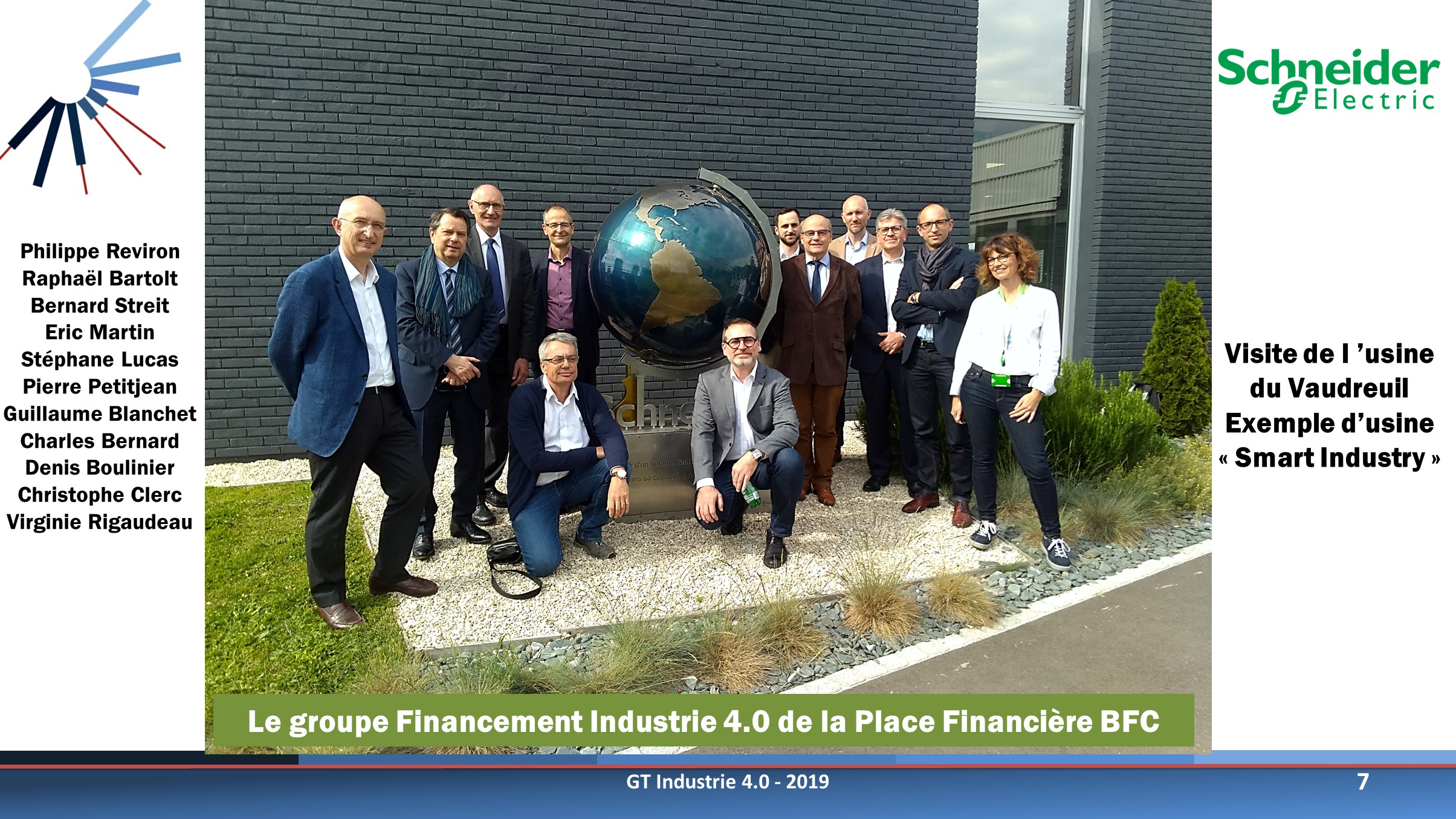 Financement Industrie 4.0 - Visite de Schneider Electric